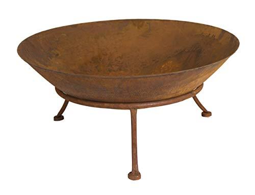 Feuerschale Seona, H 20 cm, Eisen, Edelrost, Braun mit
